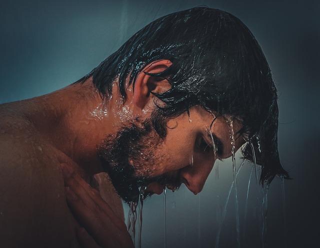 Sprchování venku